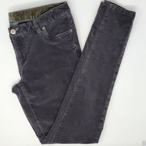 The North Face Corduroy Skinny Jeans Pants Gray 10